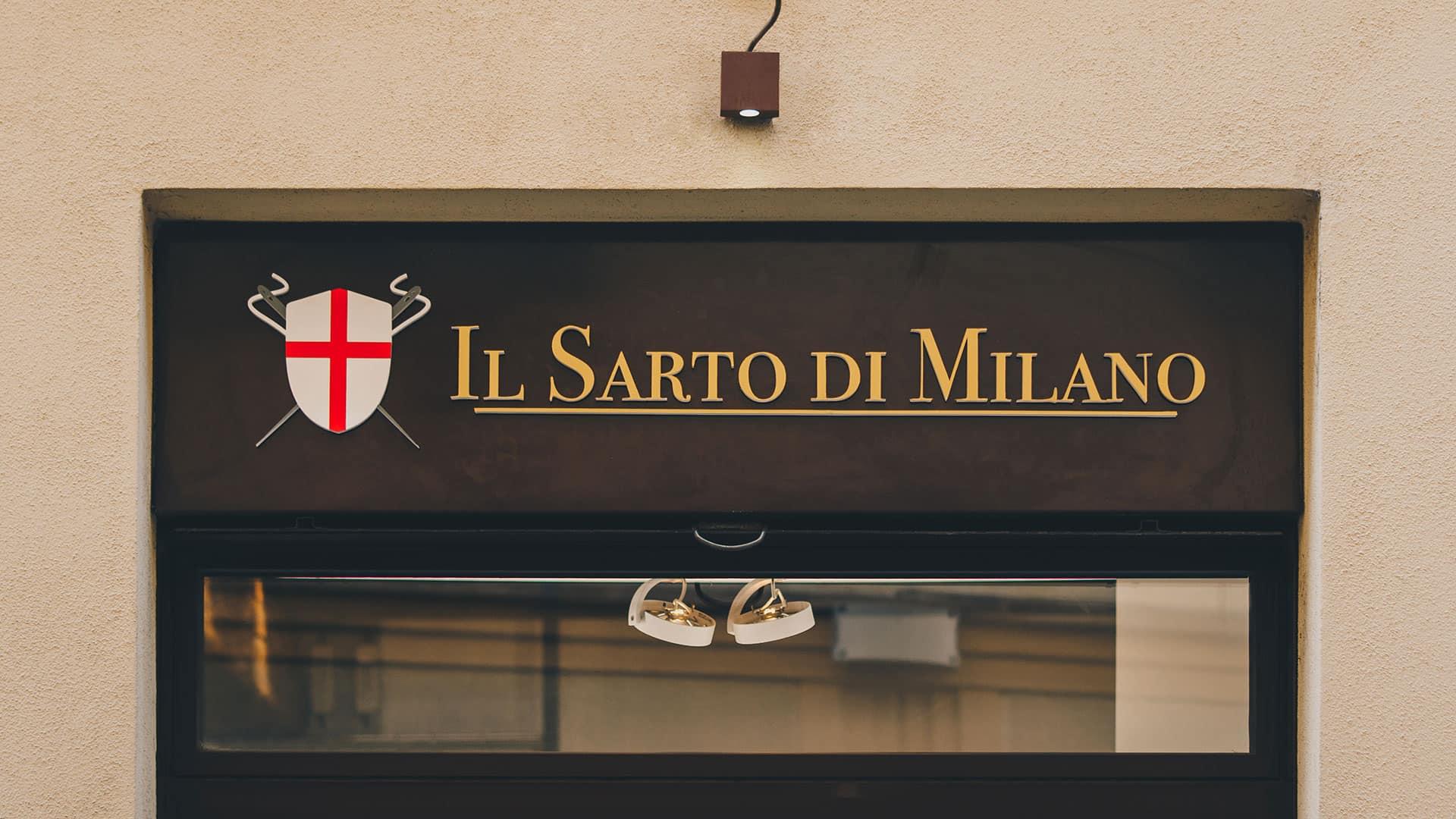 Insegna Il Sarto di Milano